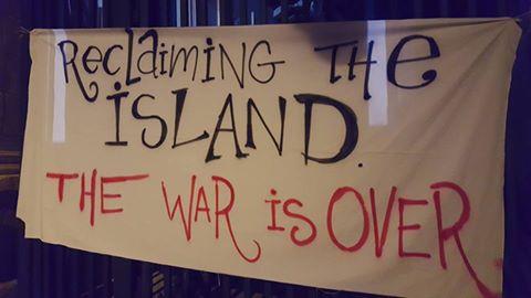 Savaş Bitti, Adayı Geri Alıyoruz