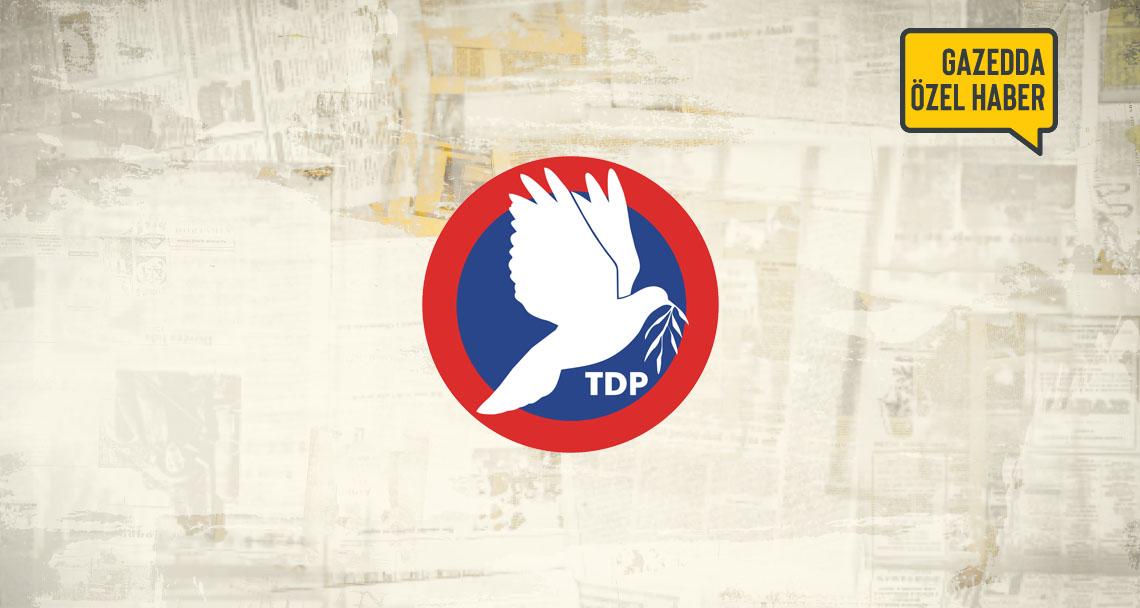TDP'de kurultay için kollar sıvandı