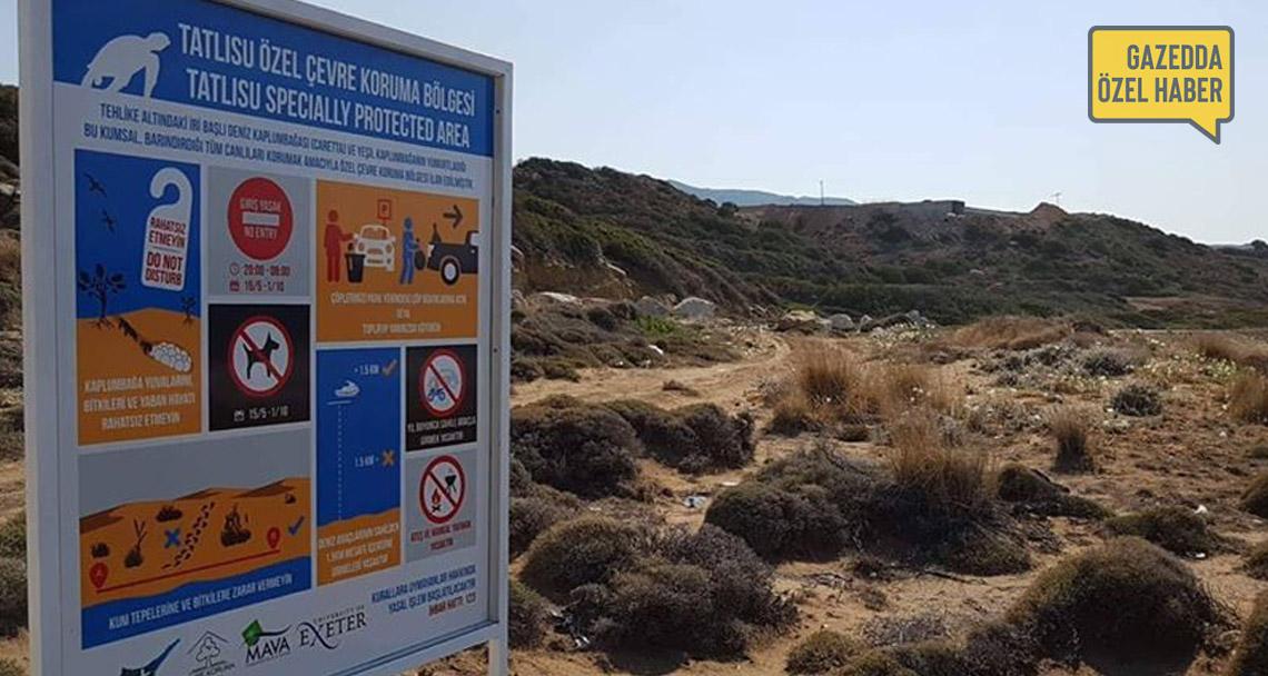 Çevre Dairesi özel çevre koruma bölgesindeki kaçak inşaatı inceliyor