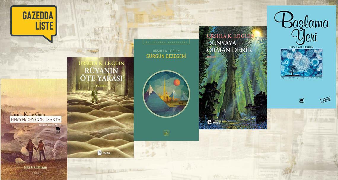 Ursula Le Guin'in doğum gününde okunası 5 kitap