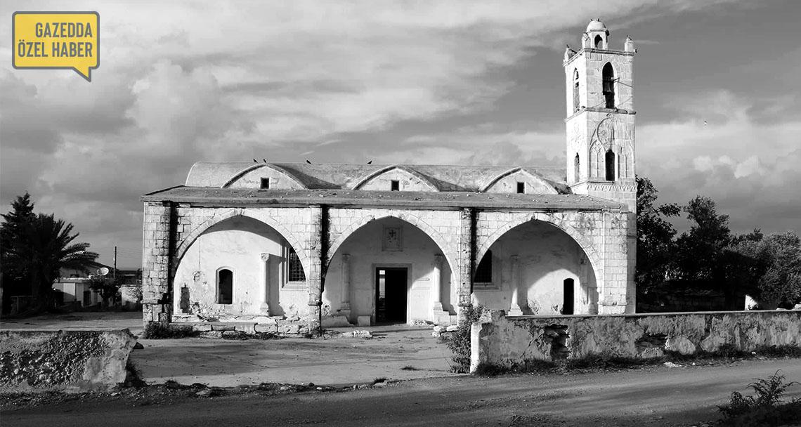 Yenierenköy'de (Gialousa) yokluğa bırakılmış bir kilise: Agia Marina Kilisesi