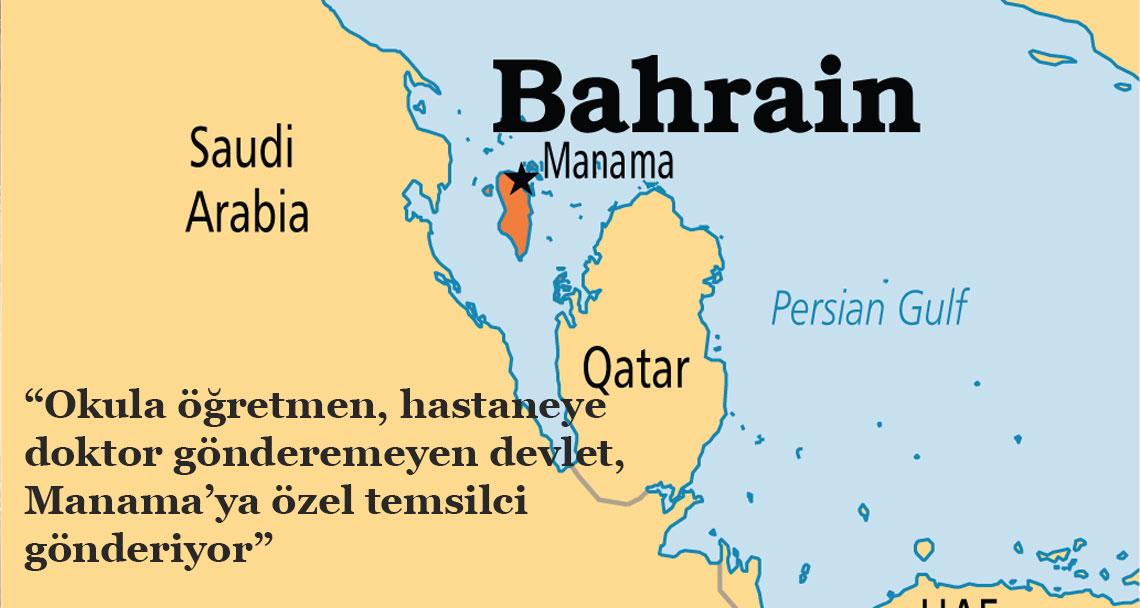 İsrafta sınır yok: Bahreyn'e özel temsilci!