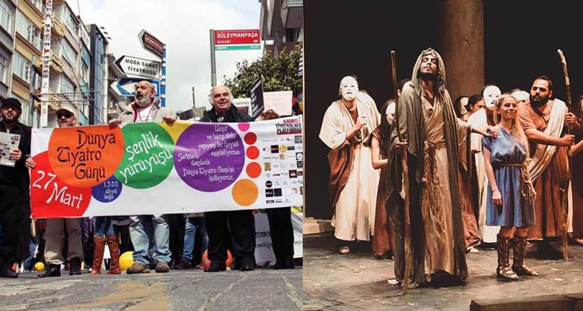 27 Mart Dünya Tiyatro Günü ve kktc'nin tiyatro ile imtihanı