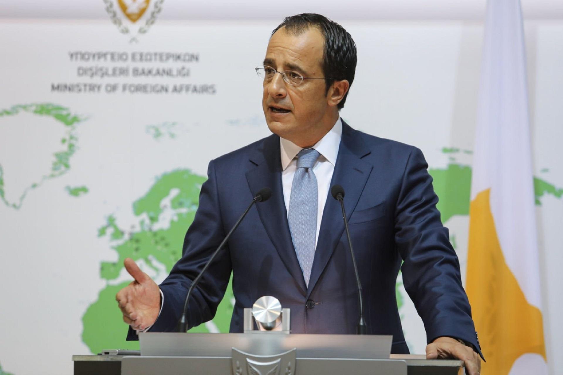 Hristodulidis: İki devletli çözüm müzakere bile edilemez
